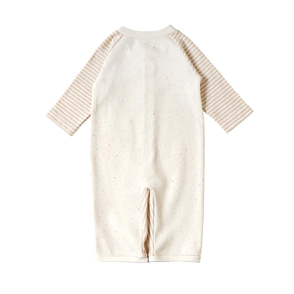 オーガニックコットン カラーネップ 2wayドレス(2wayオール) 50-70cm / Hoppetta plus