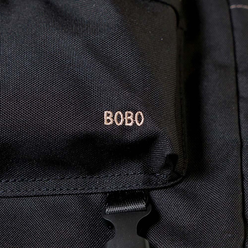 &go(アンドゴー)メッシュハンモック付き マザーズリュック ブラック / BOBO