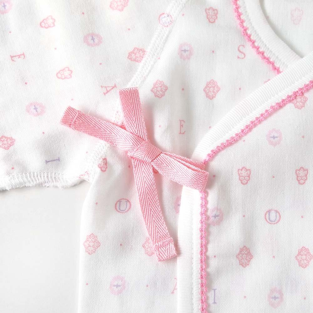 mimi(ミミ) 短肌着 ピンク 50-60cm / SOULEIADO