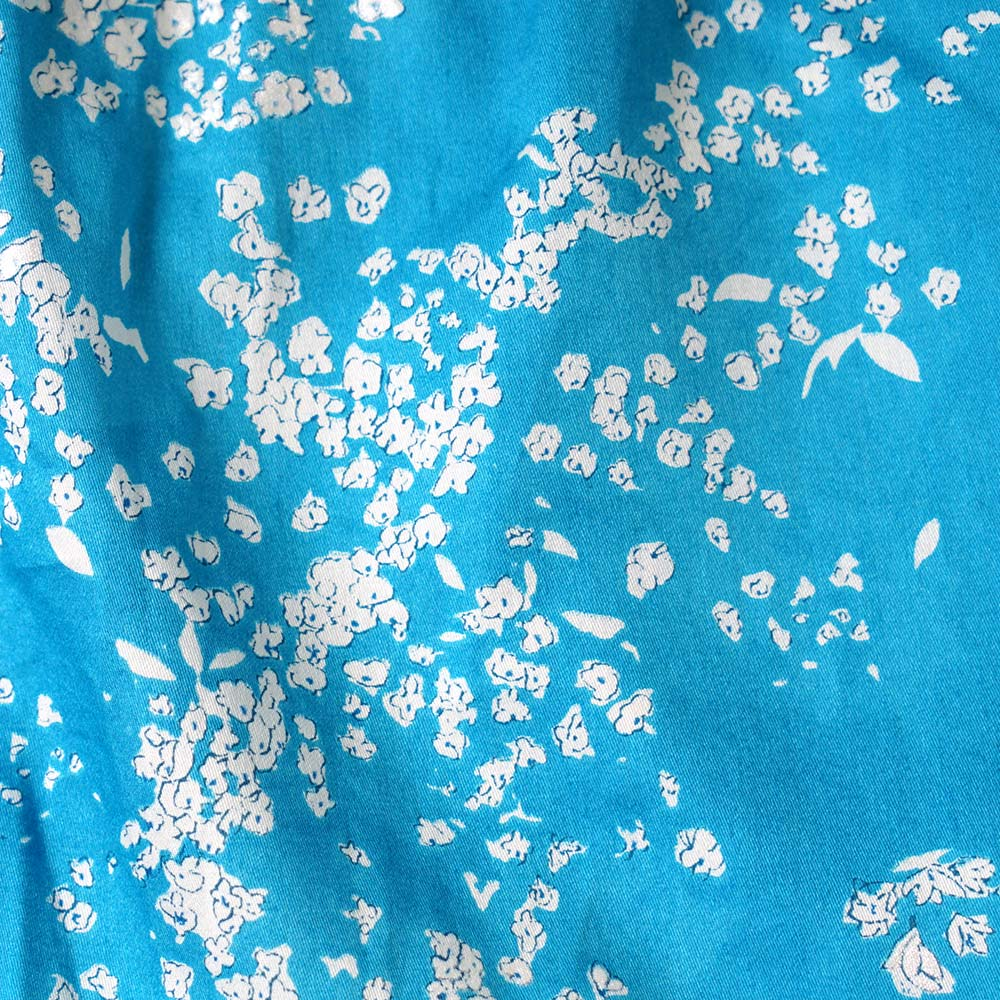 女の子レイヤードショートオール ブルー 70cm・80cm / NAOMI ITO