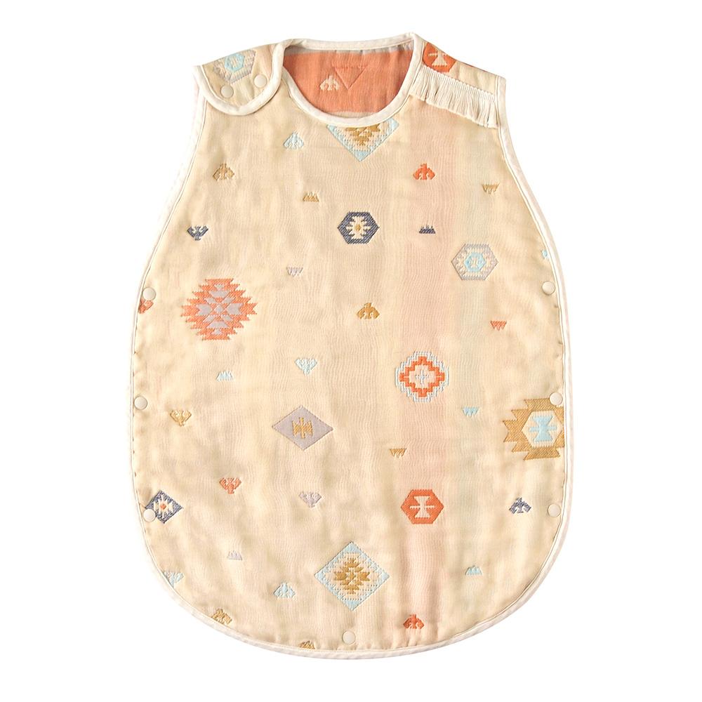 トーテム スリーパー トドラー・キッズサイズ ふくふくガーゼ(6重ガーゼ) / BOBO / 名入れ刺繍可