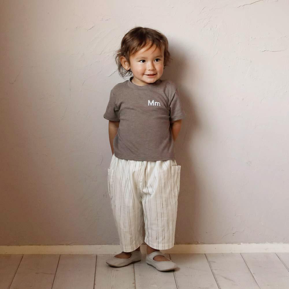 MmTシャツ モカ 80cm・90cm / NAOMI ITO