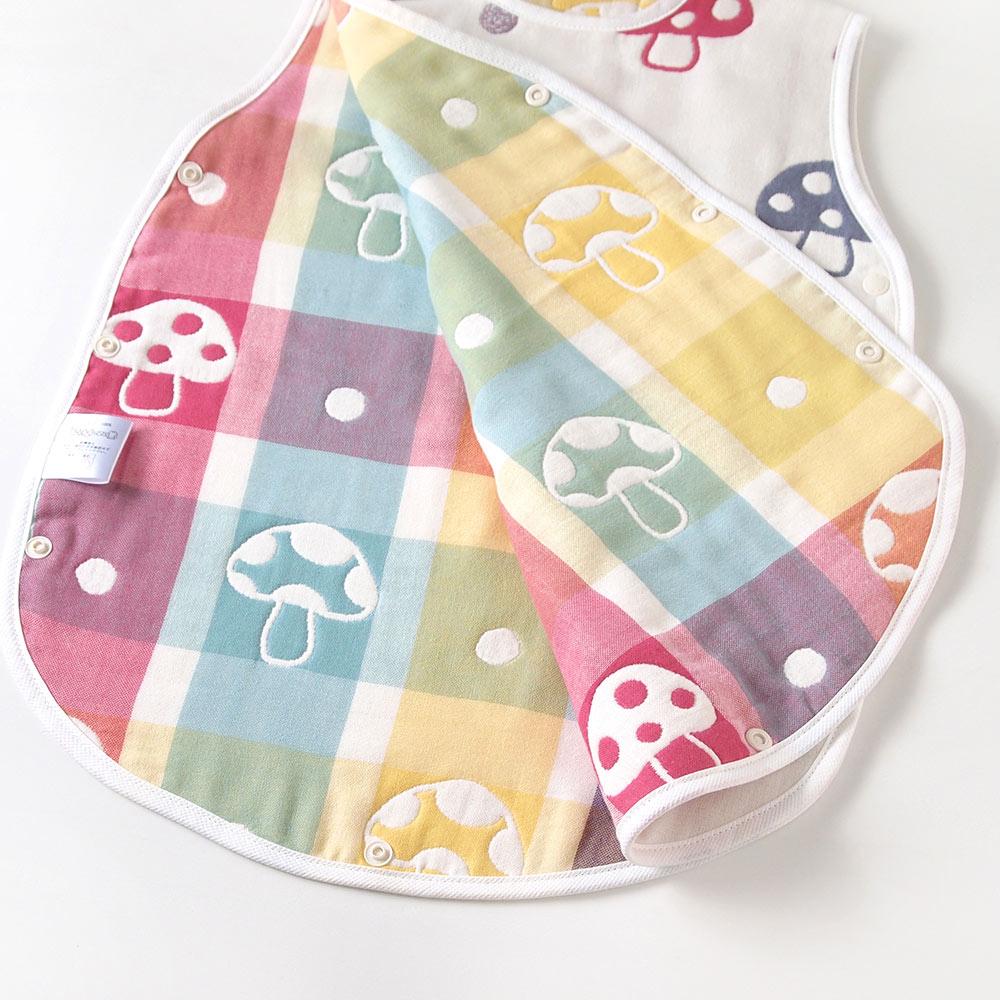 帆布ギフトBAG シャンピニオンガーゼセットS / Hoppetta / 出産祝い / 名入れ刺繍可
