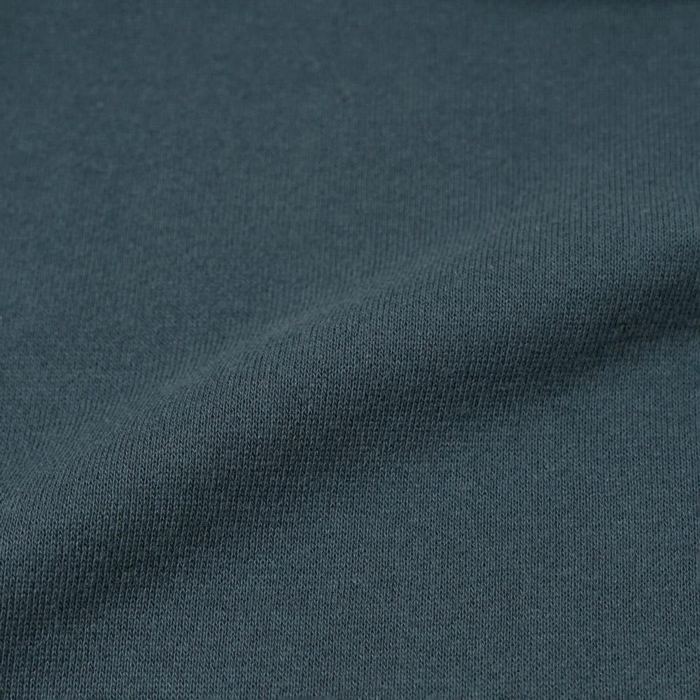 きつね刺繍裏毛ロンパース グリーン 70cm・80cm / Hoppetta