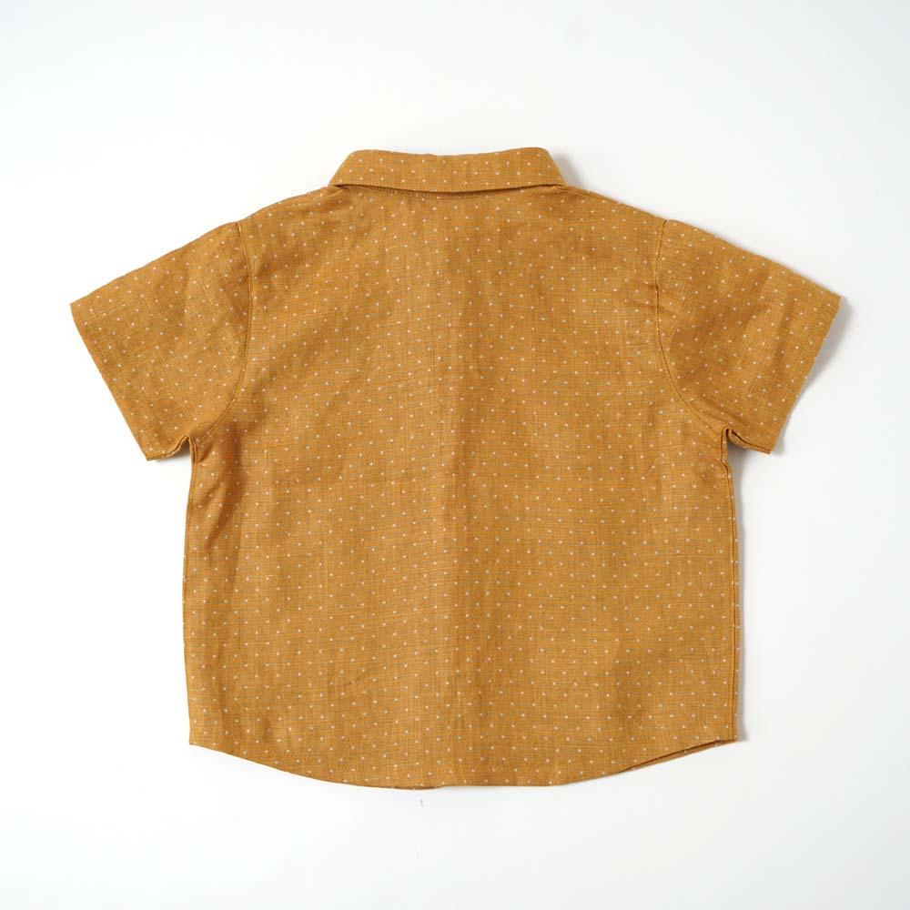 dotシャツ イエロー 80cm・90cm・100cm / Hoppetta plus