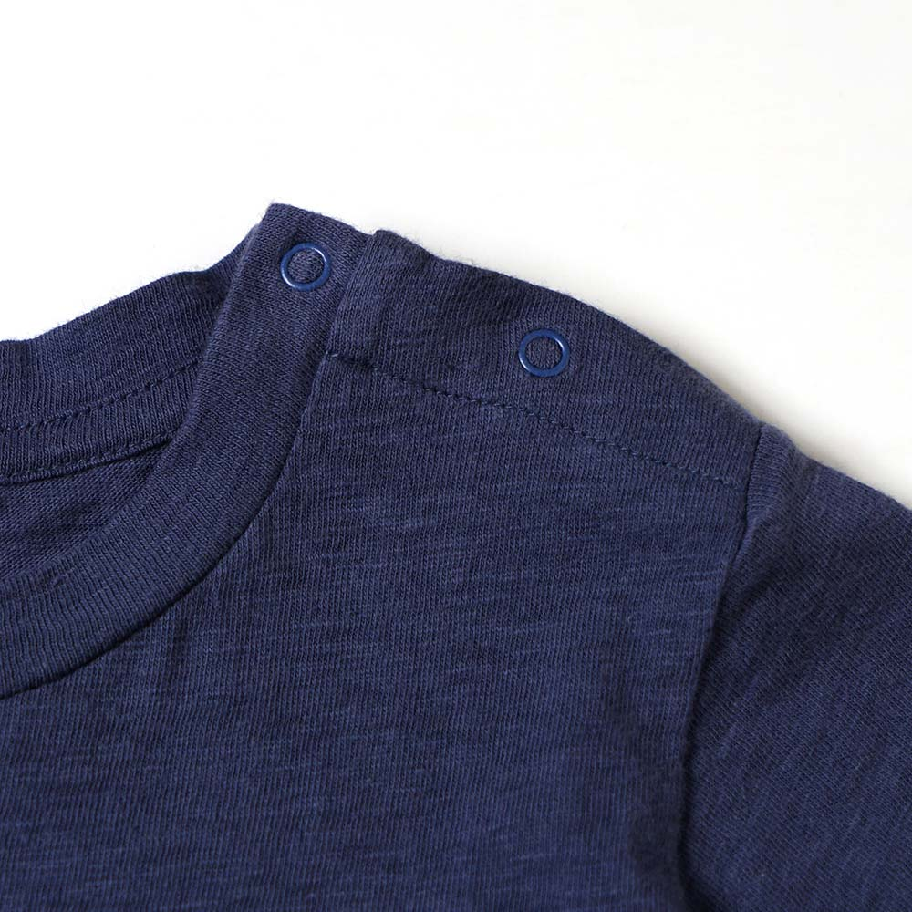 MmTシャツワンピース ネイビー 80cm・90cm / NAOMI ITO