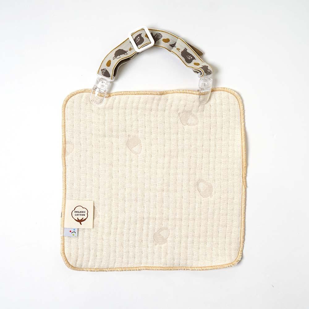 guri(ぐり) ケット・ビブバトン・クリップ&ハンカチ ギフトセット / Hoppetta / 出産祝い