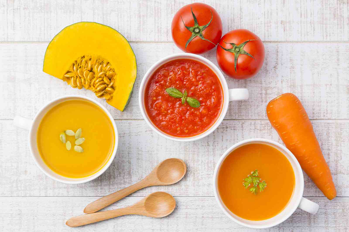 3色スープギフトセット(トマト・かぼちゃ・にんじん各2pk:全6pk入) ※ご家庭用やギフト・贈答用にも!(のし対応可)