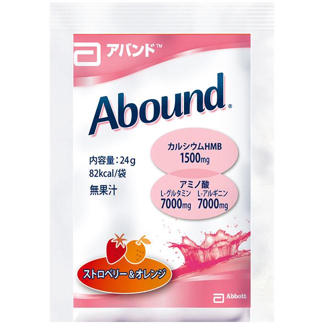 アバンド ストロベリー&オレンジ味 24gx14袋