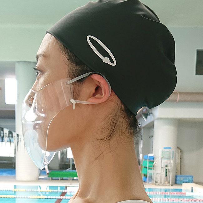 透明マスク 10個セット