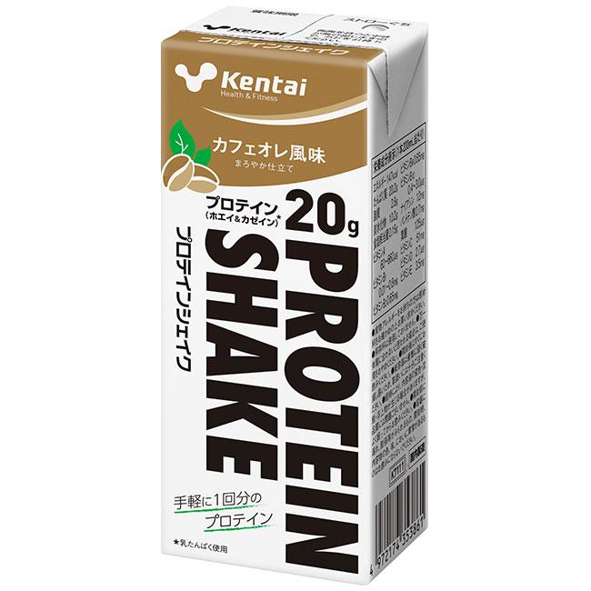 Kentai PROTEIN SHAKE カフェオレ風味 24本