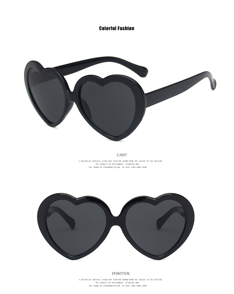 ハートのサングラス ブラック衣装との組み合わせ購入でおひとり様1点のみ無料 ※購入の場合1000円