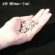 カラー砕石(小袋サイズ:900g) ライラック 【送料無料】