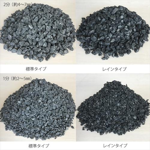 カラー砕石(小袋サイズ:900g) 黒 【送料無料】