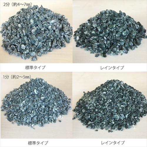 カラー砕石(小袋サイズ:900g) 緑 【送料無料】