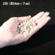 カラー砕石(小袋サイズ:900g) サビ(淡) 【送料無料】
