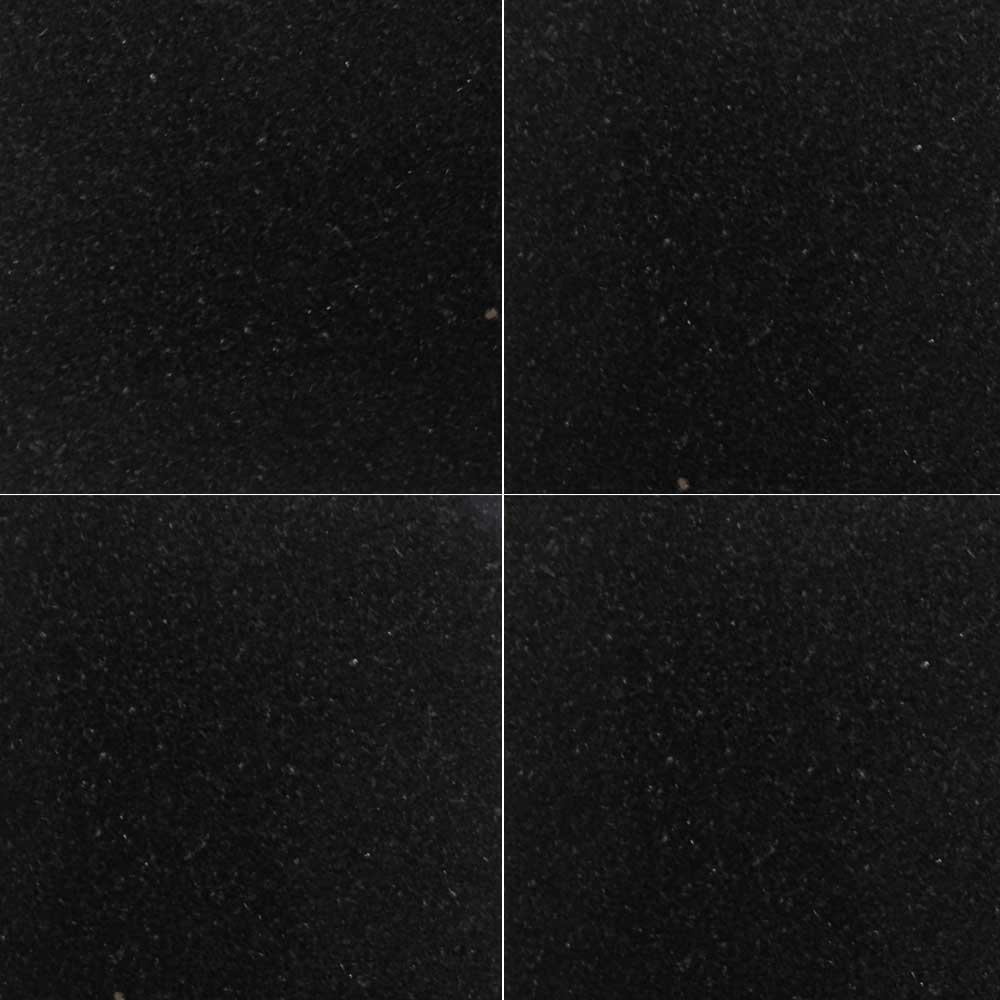 ミカゲ石 山西黒 400角 本磨・バーナー仕上 【送料別途+800円/枚】