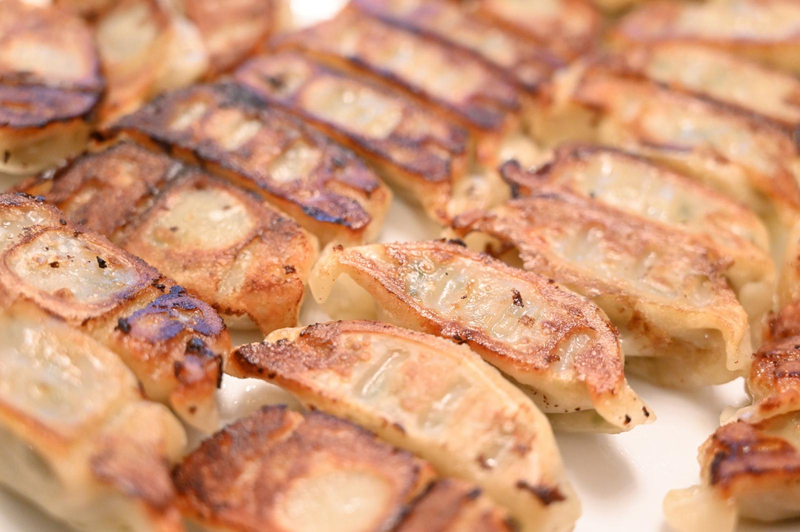 【リニューアル!】東京目黒 中華味一 濃厚肉汁背脂餃子 特製背脂小袋付き 100個入り