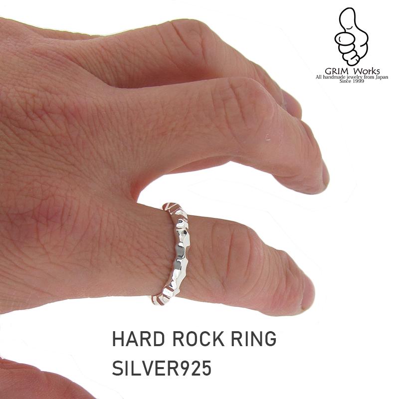 HARD ROCK RING  大人ロックなテイストの指環で極まります!YOU ROCK !!