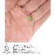 ペリドット原石タンブルストーン SILVER925 ネックレス1点物 「巡り会い」シリーズ