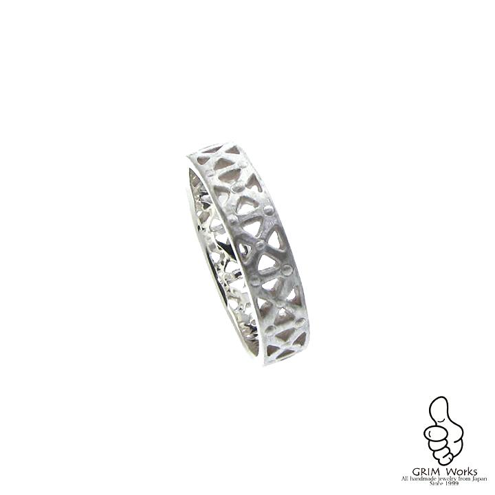 ブリッジリング Bridge Ring 石なし あなたの日常に一生物のファッションジュエリーを。