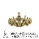 真鍮のティアラ リング 男女へ。アンティーク調クラウン・王冠で指元からの高揚感をお届けします
