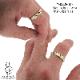TAKUMI〜輪〜 リング 他にないGRIMの匠の技ありデザイン&彫り そして仕上がり