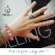 HIMAWARI リング 感覚的に夏の風物詩の向日葵の指環を楽しめる