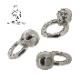 GRIMスカル&きらめき刻印の輪  1点もの 石なし  他にないオリジナルを日常に。
