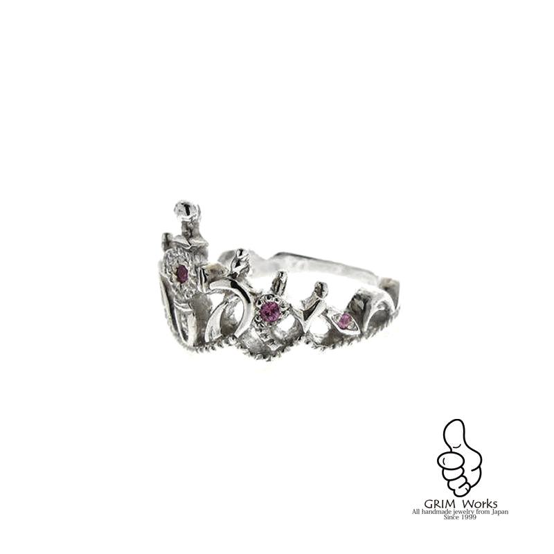 銀のティアラ リング 石あり あなたの日常に一生物のファッションジュエリーを。
