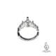 銀のティアラ リング 男女へ。アンティーク調クラウン・王冠で指元からの高揚感をお届けします