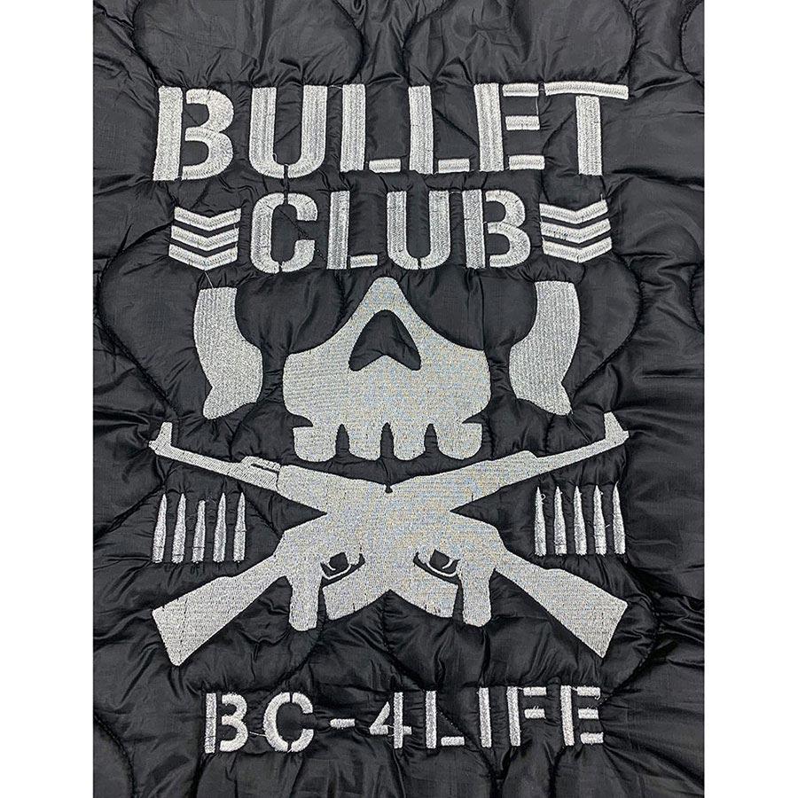 新日本プロレス 刺繍キルティングベスト BULLET CLUB XXL