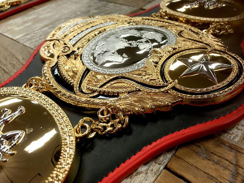 全日本プロレス 3冠ベルトレプリカ PWFヘビー級ベルト
