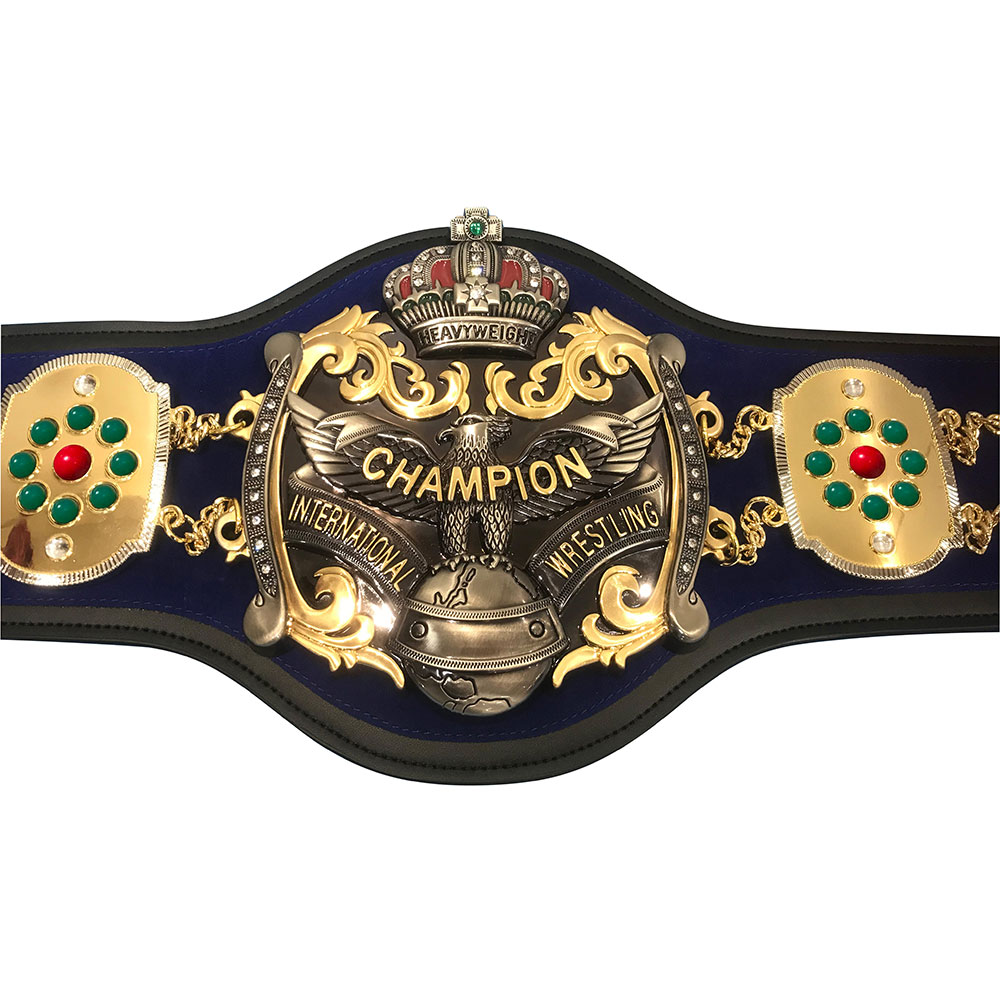 全日本プロレス 3冠ベルトレプリカ インターナショナル・ヘビー級ベルト