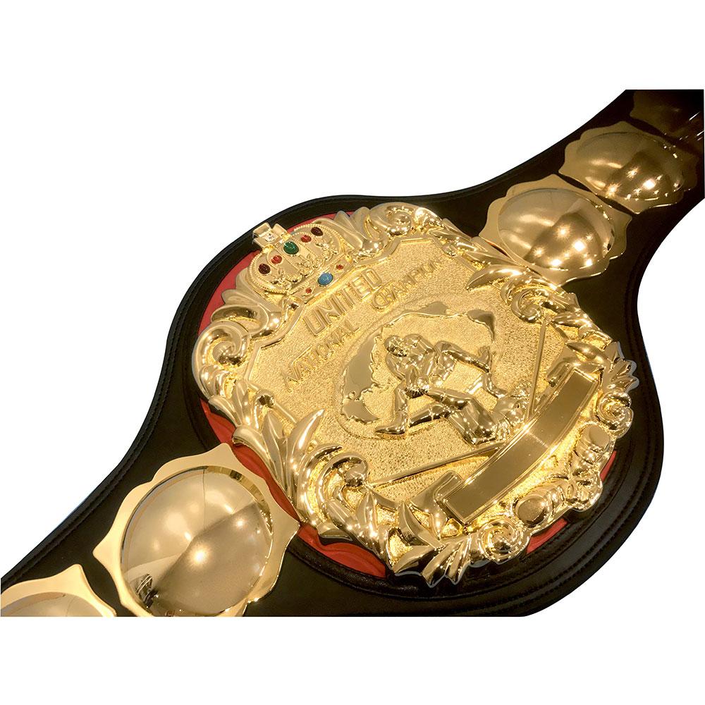 全日本プロレス 3冠ベルトレプリカ ユナイテッド・ナショナルヘビー級ベルト
