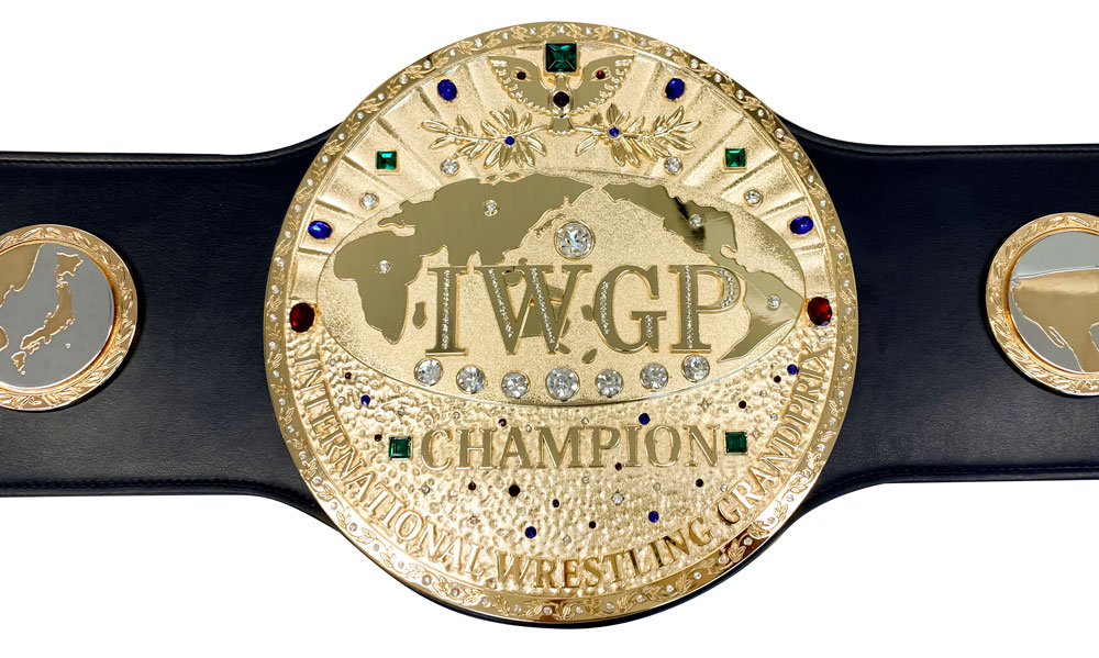新日本プロレス 初代IWGPヘビー級チャンピオンベルト レプリカ