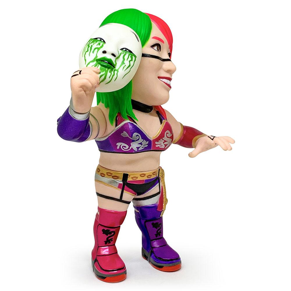 16dソフビコレクション011 WWE ASUKA Green Mask Ver.[レジェンドマスターズストア限定]