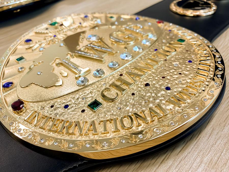 新日本プロレス 初代IWGPヘビー級チャンピオンベルト レプリカ(2次受注)