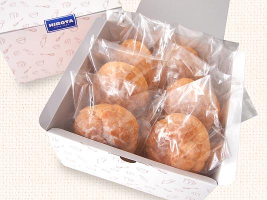 ソフトクッキーシュー&北海道生クリームシュー 各3個入