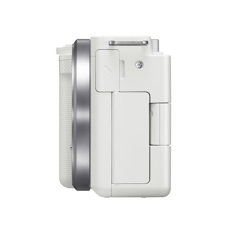 SONY VLOGCAM ZV-E10L W パワーズームレンズキット ホワイト