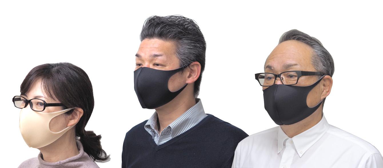 洗えるマスク3枚セット