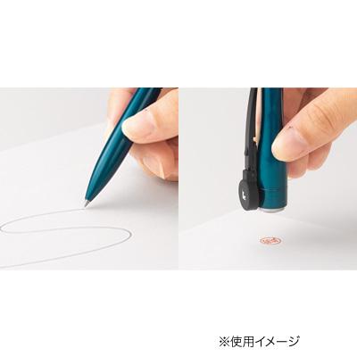 シヤチハタ ネームペンキャップレスエクセレント 別製品A シャインシルバー