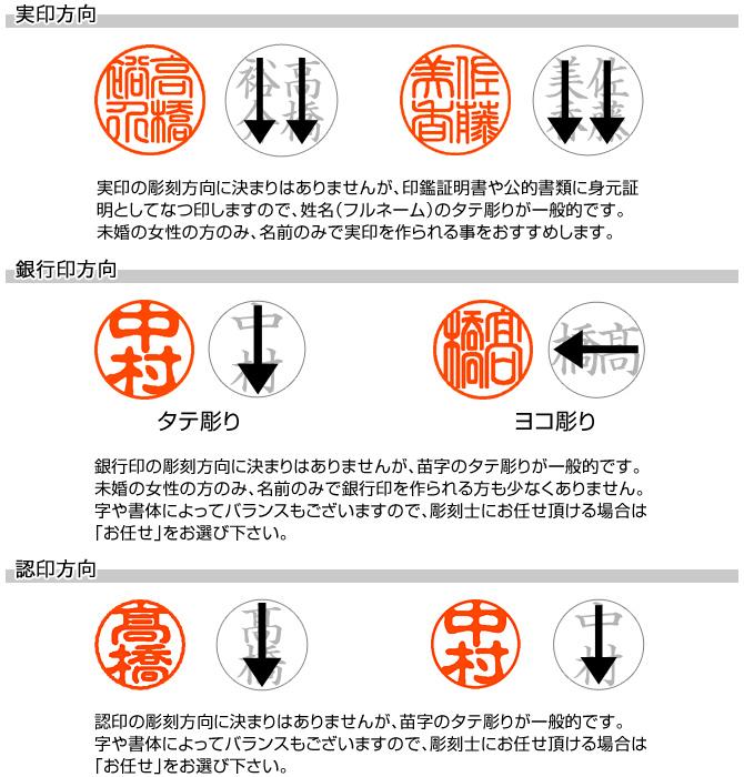 実印・銀行印・認印セット/牛角(中柄)/18・15・12/(各カラーモミケース付)