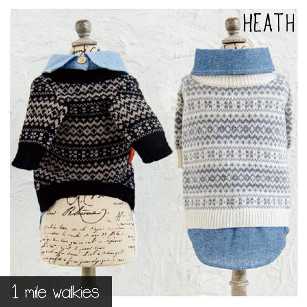 HEATH(ヒース)Nordic Sweater with Shirt