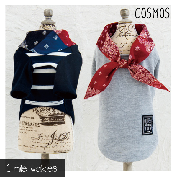 COSMOS(コスモス)Bandana Collared Top