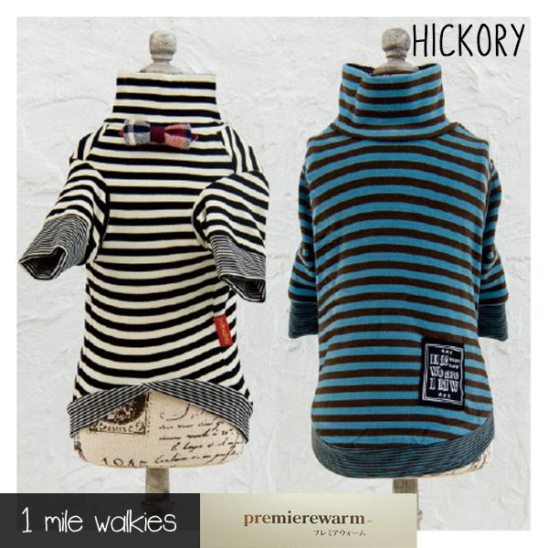 HICKORY(ヒッコリー)Stripe Turtleneck Top
