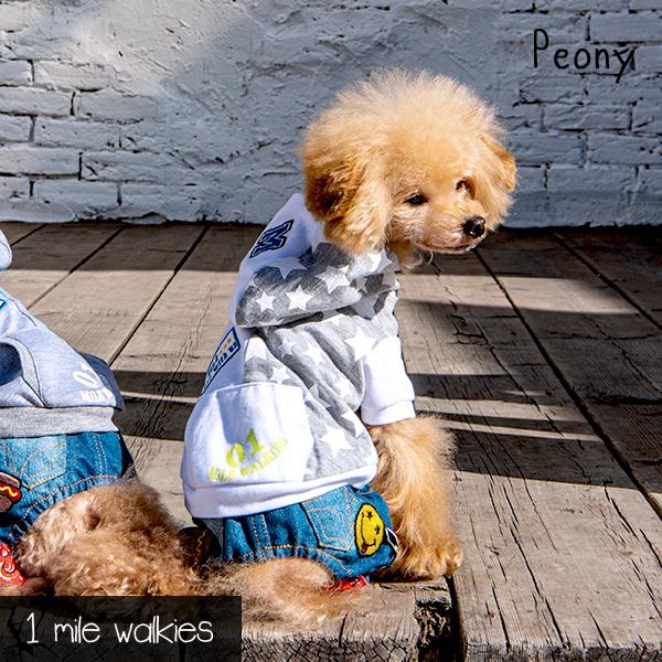 Peony(ピアニー)Hooded Jacket
