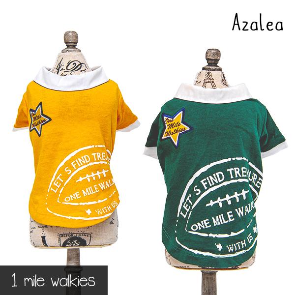 Azalea(アザレア)Printed Polo shirt