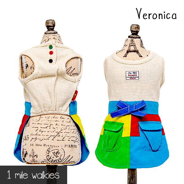 Veronica(ベロニカ)Stitching One Piece