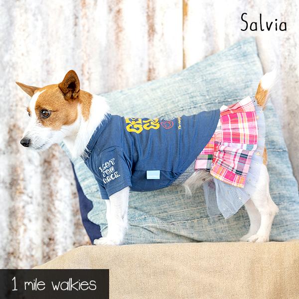 Salvia(サルビア)Logo Printed T-shirt